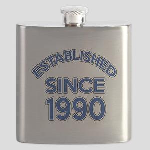 Established Since 1990 Flask