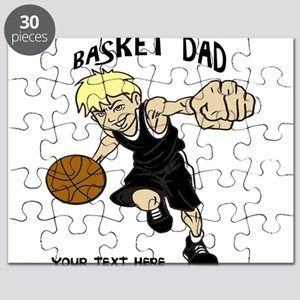 PERSONALIZED BASKET DAD Puzzle
