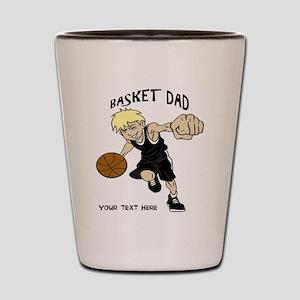 PERSONALIZED BASKET DAD Shot Glass