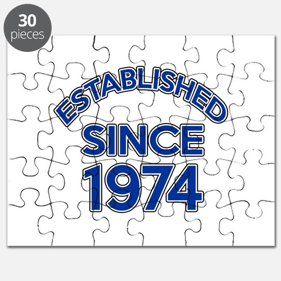 Established Since 1974 Puzzle