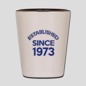 Established Since 1973 Shot Glass