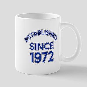 Established Since 1972 Mug