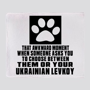 Awkward Ukrainian Levkoy Cat Designs Throw Blanket