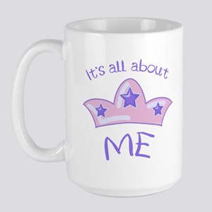 All About Me Large Mug
