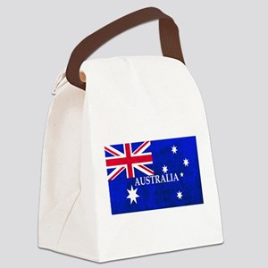 AUSTRALIAN FLAG Canvas Lunch Bag