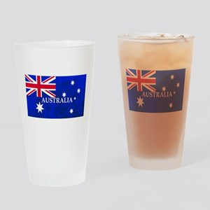 AUSTRALIAN FLAG Drinking Glass
