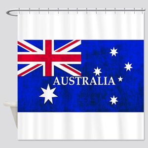 AUSTRALIAN FLAG Shower Curtain