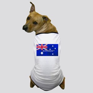 AUSTRALIAN FLAG Dog T-Shirt