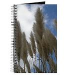 Pampas Grass and Sky Journal