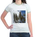Pampas Grass and Sky Jr. Ringer T-Shirt
