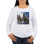 Pampas Grass and Sky Women's Long Sleeve T-Shirt