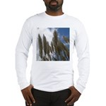 Pampas Grass and Sky Long Sleeve T-Shirt