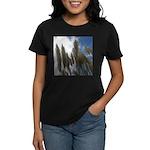 Pampas Grass and Sky Women's Dark T-Shirt