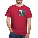Pampas Grass and Sky Dark T-Shirt