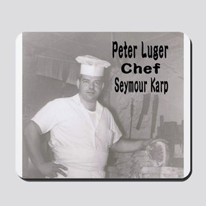 Chef Seymour Karp Mousepad