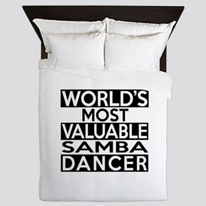 World's Most Valuable Samba Dancer Queen Duvet