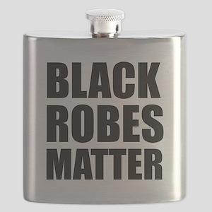 Black Robes Matter Flask