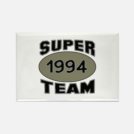 Super Team 1994 Rectangle Magnet