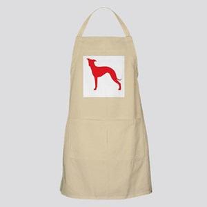 Greyhound Two Red 1 Apron