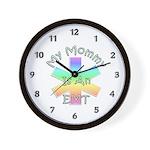 EMT Mommy Wall Clock