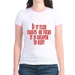 Cheaper To Rent Jr. Ringer T-Shirt