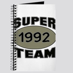 Super Team 1992 Journal
