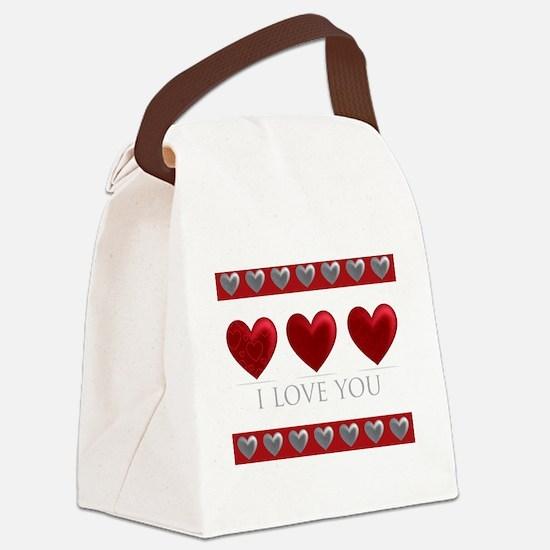 Funny Emotion Canvas Lunch Bag