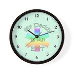 EMT Daddy Wall Clock