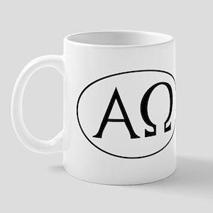 Alpha and Omega Mug