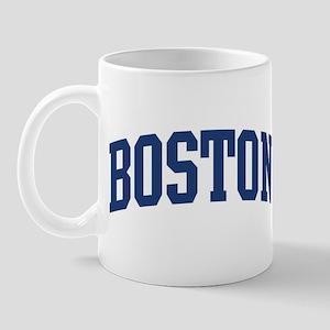 BOSTON design (blue) Mug