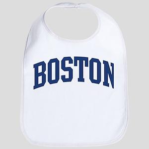 BOSTON design (blue) Bib