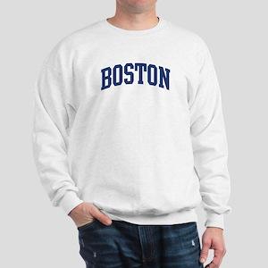 BOSTON design (blue) Sweatshirt