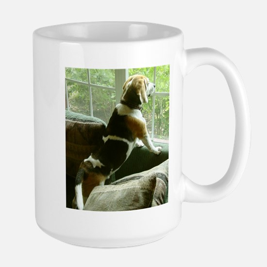 Window gazing Stainless Steel Travel Mugs