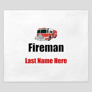 Fireman King Duvet
