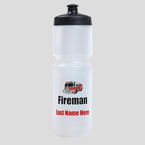 Fireman Sports Bottle