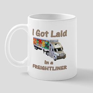 Freightliner Trucker Shirts a Mug