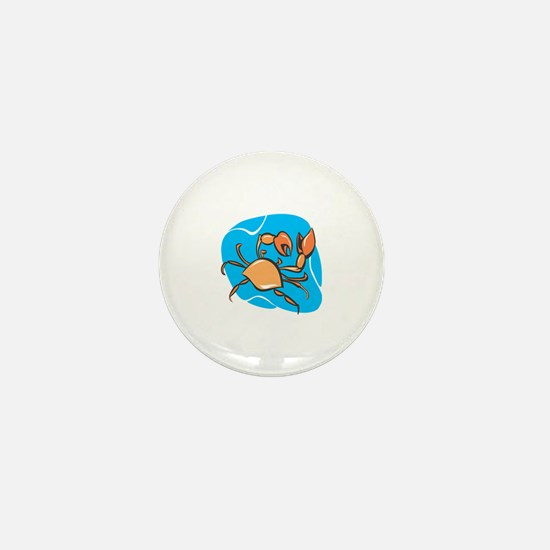 Cute Crab charm Mini Button