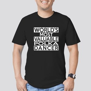 World's Most Valuable Men's Fitted T-Shirt (dark)