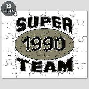 Super Team 1990 Puzzle