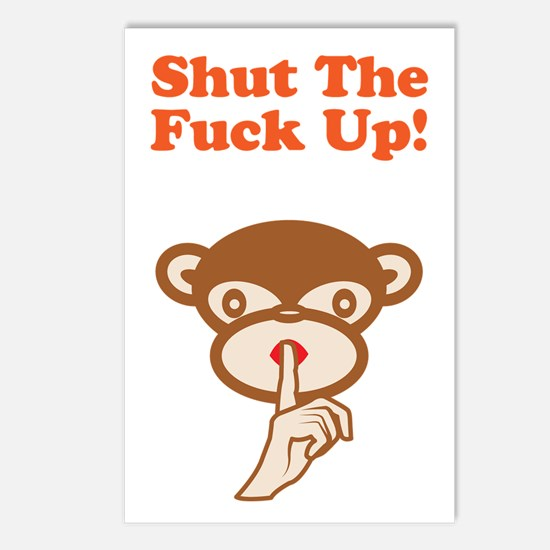 Shut The Fuck Up! Postcards (Package of 8)