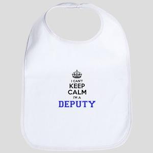 DEPUTY I cant keeep calm Bib