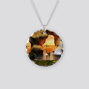 Wonderful seascape Necklace