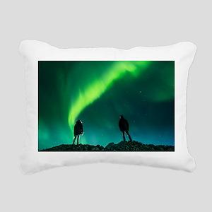Emergence of magic Rectangular Canvas Pillow