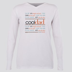 Modern Family Cool Dad Plus Size Long Sleeve Tee
