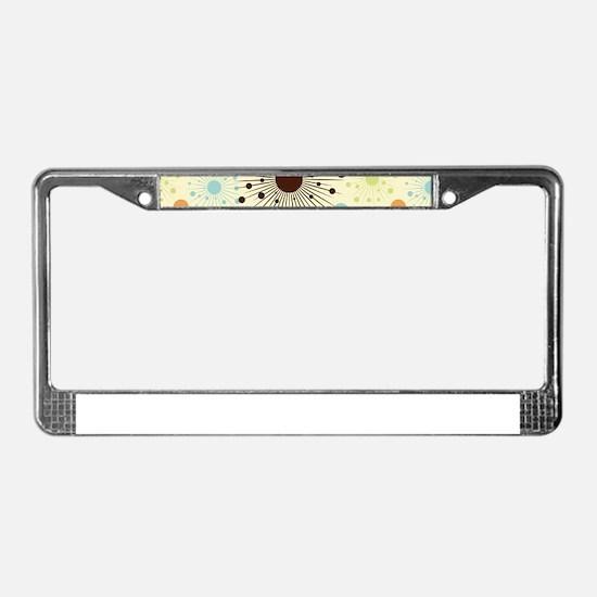 Decorative Modern Pattern License Plate Frame