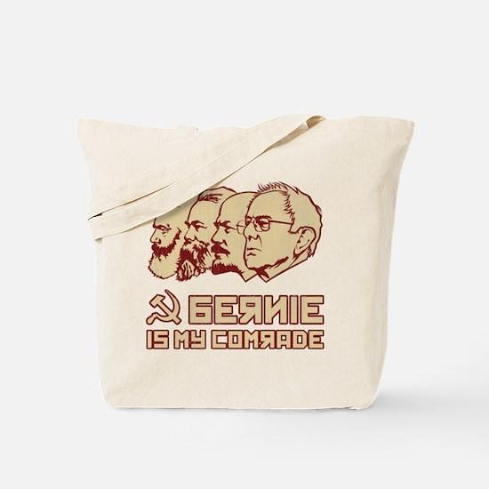 Bernie Is My Comrade Tote Bag