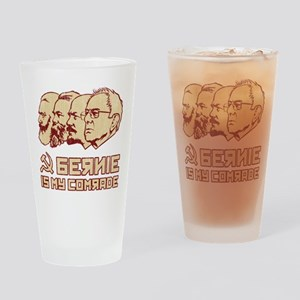 Bernie Is My Comrade Drinking Glass