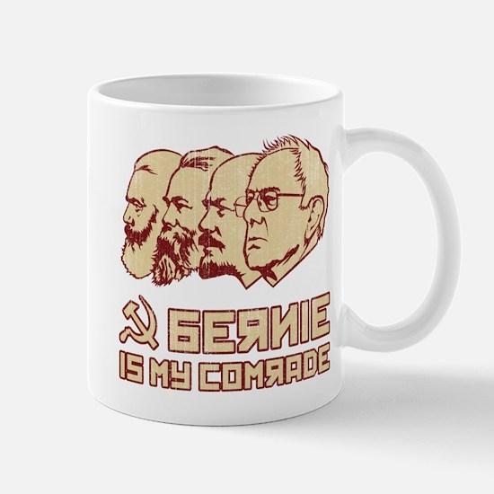 Bernie Is My Comrade Mugs