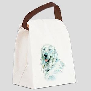 English Retriever Canvas Lunch Bag