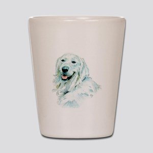 English Retriever Shot Glass